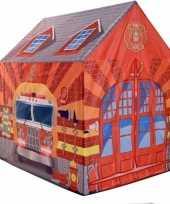 Afgeprijsde kinderkamer speeltent brandweer 201 cm