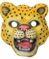 Afgeprijsde kindermasker luipaard