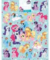 Afgeprijsde kinderspeelgoed my little pony stickervel xl