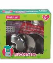Afgeprijsde metalen speelgoed keuken accessoires