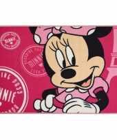 Afgeprijsde minnie mouse kleed 120 x 80 cm