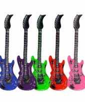 Afgeprijsde opblaasbare elektrische gitaar 55 cm
