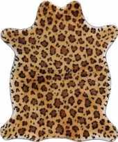 Afgeprijsde panter print dierenvelletje speelkleed speelgoed kleed 90 cm