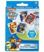 Afgeprijsde paw patrol jumbo speelkaarten