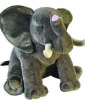 Afgeprijsde pluche olifanten knuffels 70 cm