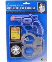 Afgeprijsde politie accessoires speelgoed set