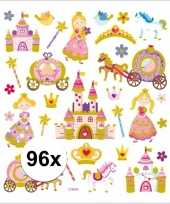 Afgeprijsde prinses thema kinder stickers