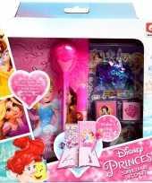 Afgeprijsde roze disney prinsessen dagboekje zelf maken voor meisjes ariel assepoester belle rapunze