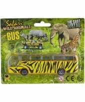 Afgeprijsde safari bus giraf print 14 cm