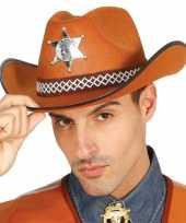 Afgeprijsde sheriff hoed
