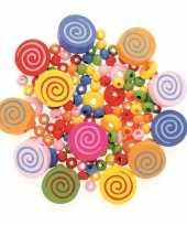 Afgeprijsde sieraden maken kralenmix set cirkels