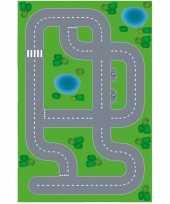 Afgeprijsde speelgoed autowegen stratenplan wegplaten dorpje xl set karton