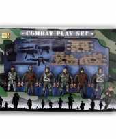 Afgeprijsde speelgoed leger soldaten setje voor jongens