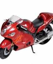 Afgeprijsde speelgoed motor suzuki 1 18