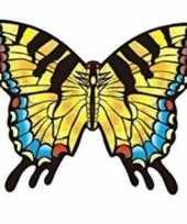 Afgeprijsde speelgoed vlieger koninginnepage vlinder 70 x 48 cm
