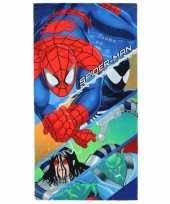 Afgeprijsde spiderman handdoek 70 x 140 cm