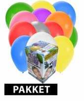 Afgeprijsde tankje incl 200 gekleurde ballonnen