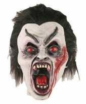 Afgeprijsde vampier masker van latex