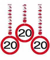 Afgeprijsde verjaardag versiering rotorspiraal 20 jaar