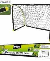 Afgeprijsde voetbal goal voetbaldoel 180 x 91 x 120 cm