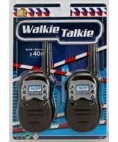 Afgeprijsde walkie talkie speel set voor kinderen 10130336
