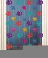 Afgeprijsde wand decoratie 40 jaar