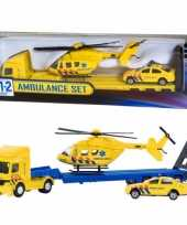 Ambulance helikopter set