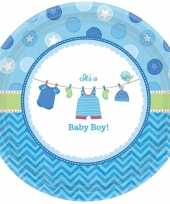 Babyshower bordjes its a baby boy