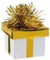 Ballonnen gewichtje kadootje goud zilver 175 gr