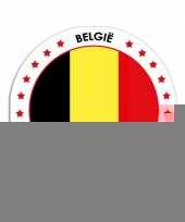 Belgie stickers