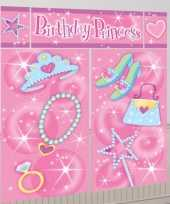 Birthday princess scene setter