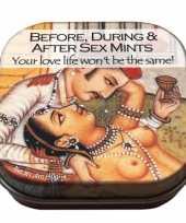 Blikje met de tekst sex mints