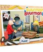 Buurman en buurman puzzel voor kinderen 50 stuks
