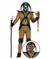 Carnavalskleding monster pak met masker voor heren