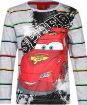 Cars kinder t shirt grijs