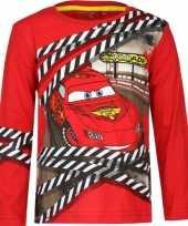 Cars kinder t-shirt rood