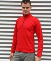 Craft thermo rood mannenshirt