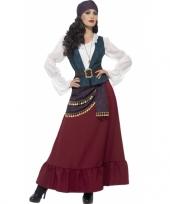Dames piraat kostuum