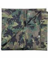 Dekzeil 2 85 x 4 meter camouflage