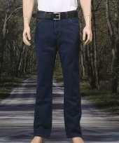 Donkere stretch jeans texas