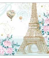 Eiffeltoren servetten 20x