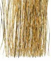Erstversiering tinsel engelenhaar goud 50 cm