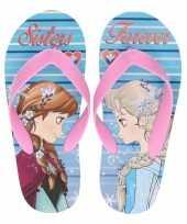Frozen kinder slippers anna en elsa sisters forever voor kindere