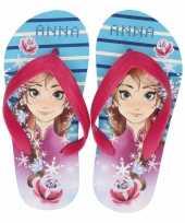 Frozen kinder slippers anna voor kinderen