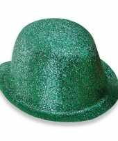 Glitter bolhoed groen