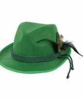 Groene jagershoed