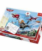 Grote puzzel van disney planes