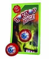 Halloween artikelen horror oog
