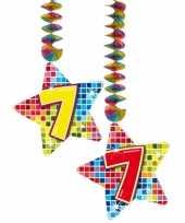 Hangdecoratie verjaardag 7 jaar