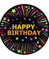 Happy birthday print bierviltjes